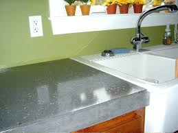 concrete countertop review how to do concrete also polished concrete to make stunning concrete sealer review