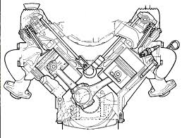 V8 engine diagram best of a sectional view of the rover v8 engine a masterpiece of