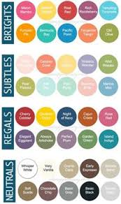31 Best Stampin Up Color Charts Images Stampin Up Color
