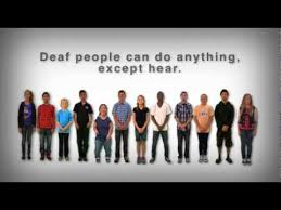 Jobs Deaf People Can Do One Lens Deaf People Can Do Anything Except Hear