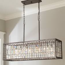 architecture impressive rectangular glass drop chandelier 21 lamp farmhouse crystal clarissa instructions