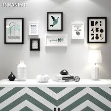 office wall frames. Modren Frames Large Photo Frames Modern Geometric Patterns OfficeStoreHome Wall  Decoration Wood Painting Pictures For Office R