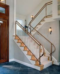 Craftsman Staircase craftsman railing staircase contemporary with column reversible 6322 by xevi.us