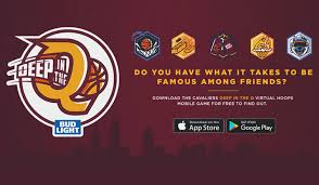 Q And A Game Deep In The Q Virtual Pop A Shot Mobile App Game Cleveland Cavaliers
