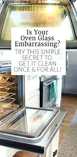 clean oven window cleaning between glass oven door lg how to clean and