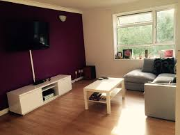 For Feature Walls Living Rooms Purple Wallpaper Feature Wall Living Room Yes Yes Go