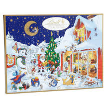 Amazon.com : Lindt Chocolate Holiday Advent Calendar, 10.2 oz ...