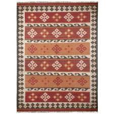 burdy hacienda wool 8 ft x 10 ft area rug