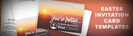 Help Your Church Invite Friends Free Easter Invite Template Church