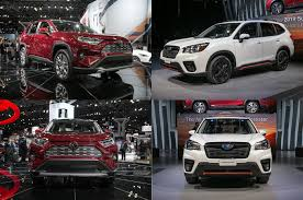Auto Showdown: 2019 Toyota RAV4 vs. 2019 Subaru Forester - Motor Trend