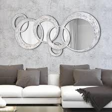 Wall Mirrors Decorative Living Room Designer Wall Mirror Circles By Viadurini Decor Made In Italy