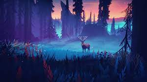 Among Trees HD Wallpaper