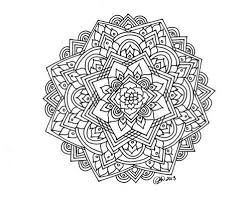 Small Picture complex mandala coloring pages printable Google Search