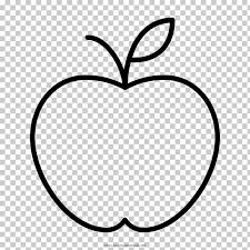 Manzanas Para Colorear Libro Para Colorear Dibujo Manzana Niño Manzana Png Clipart