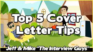 How To Write A Cover Letter Youtube How To Write A Cover Letter Top 5 Cover Letter Tips