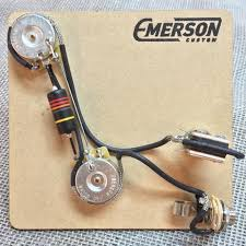 emerson custom t way tele prewired kit rogue guitar shop emerson custom prs 2 knob prewired kit