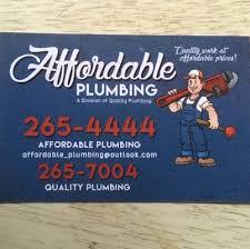 affordable plumbing plumbing wichita ks phone number yelp