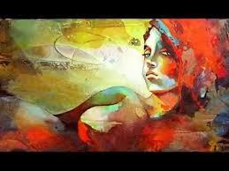 Resultado de imagen para pinturas abstractas amor DE NOCHE