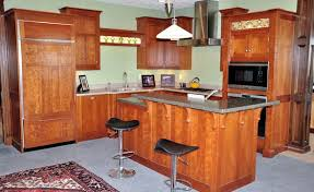 Computer Kitchen Design Classy Randall Cabinets Design Wapella Illinois