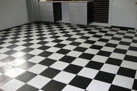 Black & White Tiles Checkerboard Tiles