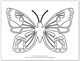 10 little fishies coloring pages. Butterfly Coloring Pages Free Printable Butterflies One Little Project