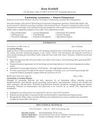 accountant resume examples resume for accountant