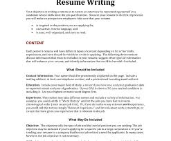 imposing list of resumevesve statements career examples for