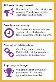 plain english foundation editing benefits for your organisation get your message across save time and money strengthen