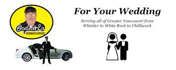 Designated Driver Maple Ridge Weddings Captains Dd Designated Driver Service Wedding