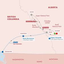 9 Day Canadas Rockies With Calgary Stampede
