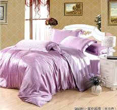 purple king size sheets luxury purple pink silk satin bedding set for queen king size duvet