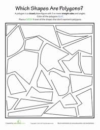 identifying polygons geometry first grade worksheets on polygons andrewgarfieldsource on configuration worksheet