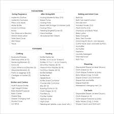 Baby Shower Checklist Under Fontanacountryinn Com