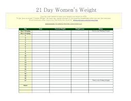Weight Loss Chart Excel The Tracking Tracks Amount Of Progress