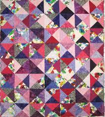 New Patterns for Pre-cuts! - Hoffman Fabrics & 1895_trapezium quilt Adamdwight.com