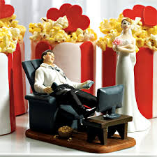 Couch Pouch Groom Cake Topper Wedding Cake Toppers Wedding