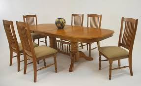 dining room furniture oak table and chairs home