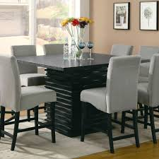 Bar Height Kitchen Table Set Table And Stools For Kitchen Pollarize