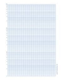 This Semi Log Paper Features 24 Linear Divisions On The