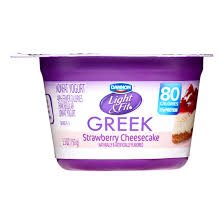 Dannon Light And Fit Weight Watchers Points Dannon Light Fit Greek Blended Nonfat Yogurt Strawberry