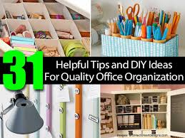 diy office ideas. Diy Office Organization Ideas