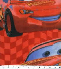 disney lightening mcqueen cars fleece fabric 58 u0027 u0027