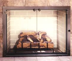glass door for fireplace. All Glass Legend Fireplace Door - A Customer Favorite! For L