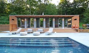 small pool shed. Interior Small House Design, Guest Pool Cabana Plans Shed