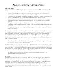 example of analytical essay cover letter example of a analysis essay an example of a critical