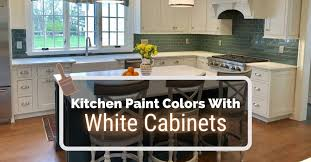 kitchen paint colors with white