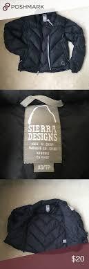 Sierra Designs Rn 60918 Sierra Designs Black Coat Great Condition Has Strings On
