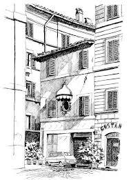 Roma Disegni In Bianco E Nero Marcella Morlacchi