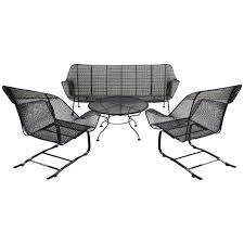 stunning black wrought iron furniture by woodard furniture for patio furniture ideas black iron outdoor furniture