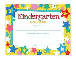 Amazon Com Kindergarten Certificates 60 Pack
